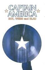 CAPTAIN AMERICA:ROT,WEISS + BLAU deutsch lim.Hardcover JACK KIRBY,FRANK MILLER 1