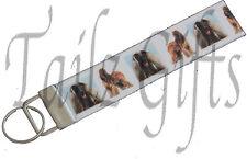 Afghan Hound Matching Keyring Key Ring | Bookmark