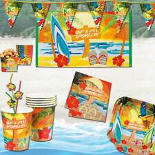 Beach Party Deko, Tischzubehör, Teller & Co. für tolle Sommer- und Mottopartys