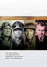NEW--Studio Classics: Set 11 DVD, Blue Max/ Desert Fox/ Immortal Sergeant/ Sink.