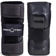 "PRO-TEC ""Street"" Wrist Guards BLACK Roller Derby Skateboard XS S M L Wristguards"