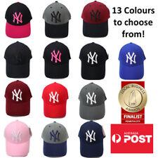 NY New York Yankees Logo Adjustable Baseball Cap MADE IN KOREA
