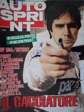 Autosprint 26 1984 GP Usa - Detroit. In arrivo l'Alfa Quadrifoglio Verde sc.5