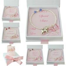 Birthstone Bracelets for Girls or Women, Gift box for Daughter, Sister, Mum etc