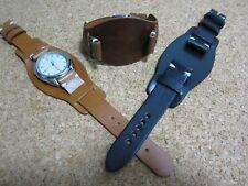 Correa Reloj cuero Bund 18 - 20 y 22mm  Leather Watch Band Strap