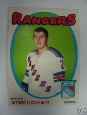 1971-72 PETE STEMKOWSKI OPC O-PEE-CHEE #217 71-72