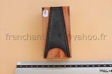 N089 Ancien tampon scolaire bois plastique frise dessin motif echelle  9*5 cm