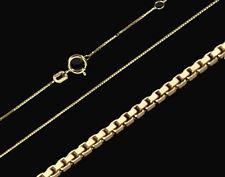 585 ECHT GOLD *** Feine Kette Venezianerkette 0,6 mm / 38-40  cm