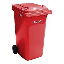 Container SULO 240 L poubelle ordures ménagères tri sélectif, Marron (22115)