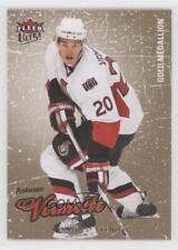 2008 Fleer Ultra Gold Medallion #62 Antoine Vermette Ottawa Senators Hockey Card