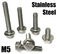 X 15 Mm Od Panel Arandela Arandelas A2 Tornillos Pernos de acero inoxidable M5 5 Mm