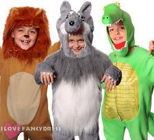 Animale Costume Bambini Ragazzi Ragazze Giornata Mondiale del Libro di scegliere personaggio