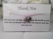 1 x Wish Bracelet Wedding Favour, Birthday, Best Friends and more