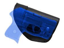 NEW Barsony Black Leather IWB Gun Holster for Mini/Pocket 22 25 32 380 w/ LASER