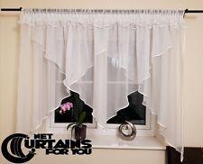 New Net Curtain / Voile / 131b / Homemade / Firanki / Tüllgardine / Store