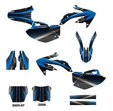 Honda 2005 2006 2007 2008 CRF 450R graphics decal kit #3333-Blue