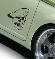 Totenkopf Skull Aufkleber Sticker Car Styling Wandtattoo 25x28cm freie Farbwahl