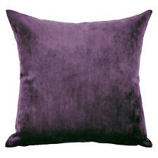 Mystere Amethyst Velvet Cushion Cover