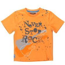 """Boboli camiseta niños """"Nunca Parada Falda"""" naranja Talla 92-152"""