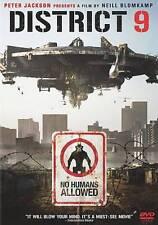 District 9 (DVD, 2009) VERY GOOD