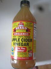 Bragg Apple Cider Vinegar w/ Mother Raw Unfiltered Pick 1 x 16 fl oz or Set of 2