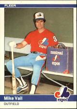 1984 Fleer Baseball Base Singles #290-569 (Pick Your Cards)