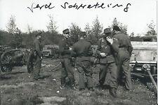 Gerd Schwetling 4x6 Signed German Fallschirmjäger Bloody Gulch WW2 World War 2