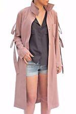 ASOS Sleeve Detail Long Trench Summer Mac Jacket Coat 6 to 26