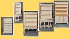 1:12 scala casa delle bambole miniatura selezione di Bianco 5 cassettoni 4 scegliere.