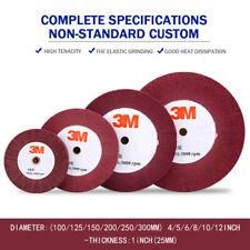100-300mm Non-woven Unitized Polishing Wheel for Metal Surface Finishing 320#