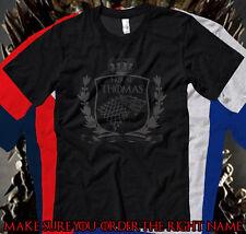 THOMAS Last Name T-Shirt Family Name Game of Thrones Inspired PREMIUM SOFT TEE