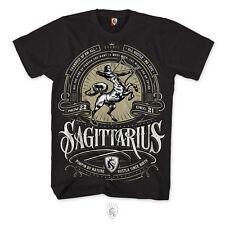 OGABEL OG Abel Sagittarius Tattoo Skull Art Arrow Archer Centaur Mens Shirt