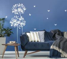 Wandtattoo Blume 160cm hoch Wandaufkleber Wandsticker Wand Sticker Floral N319
