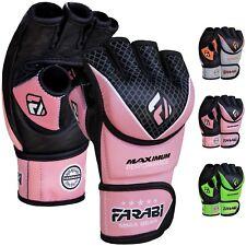 Farabi Maximum Performer Genuine Leather Gloves  MMA  Training Gloves