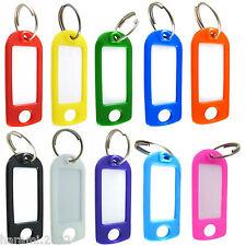 Schlüsselschilder, Schlüsselanhänger zum Beschriften, Farben und Mengen wählbar
