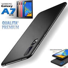 CUSTODIA COVER ULTRA SLIM OPACA per Samsung Galaxy A7 (2018)  Qualità PREMIUM