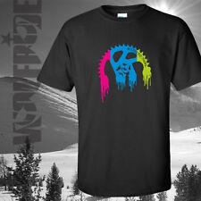 Bicicleta de montaña, colorido Plato T-Shirt, equipo de Bicicleta, Mtb, Dh, Ciclismo Camiseta