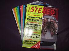 """HiFi-Zeitschrift """"STEREO""""  -  fast kompletter Jahrgang 2002 (ohne 05 und 10)"""