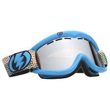 Maschera occhiali goggle snowboard EG1 Electric Cyan Toned Bronze/Silver Chrome