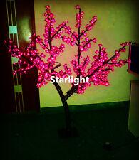 5ft LED Cherry Blossom Tree Outdoor Wedding Garden Holiday Light Decor 432 LEDs