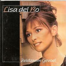 LISA DEL BO - zeldzaam gevoel CD SINGLE 2TR CARD 1999