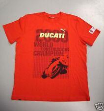 Ducati puma Corse t-shirt diseñador WM SBK 09 nuevo