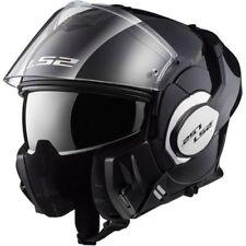 LS2 FF399 Valiant Convert Flip Up DVS Motorbike Motorcycle Helmet Gloss Black