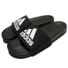 adidas Adilette CF Comfort Logo Black White Men Sandal Slides Slippers CG3425