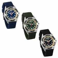Military Army Men's Nylon Canvas Strap Sport Quartz Analog Wrist Watch Watches