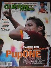 GUERIN SPORTIVO 2009/40=FRANCESCO TOTTI ROMA=QUAGLIARELLA=TONI=FILM CAMPIONATO=