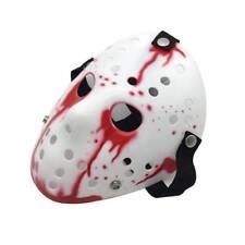 NEW Jason Voorhees Hockey Mask Friday 13th Halloween Adult Horror Movie Costume