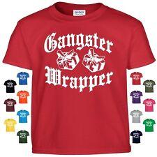 Gangster Wrapper Funny Christmas T Shirt Empire Thug Life Hip Hop Beats Gift