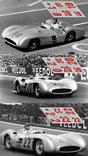 Calcas Mercedes W196 streamliner GP France 1954 1:32 1:24 1:43 1:18 196 decals
