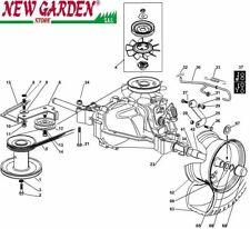 Vista desarrollada transmisión 72 cm XF140HDM tractor podadora CASTELGARDEN